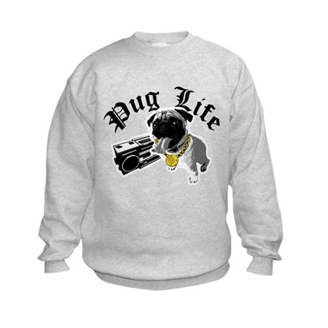 Pug Life Kids Sweatshirt