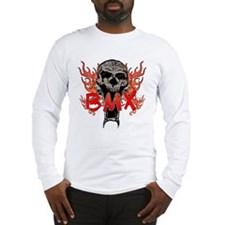 BMX skull 2 Long Sleeve T-Shirt