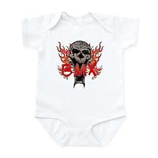 BMX skull 2 Infant Bodysuit