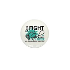 Fight Like A Girl For My Cervical Cancer Mini Butt
