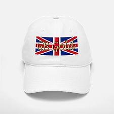 Great Britain Heart Baseball Baseball Cap