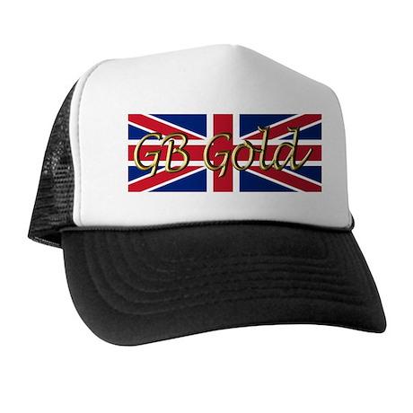 Great Britain Heart Trucker Hat