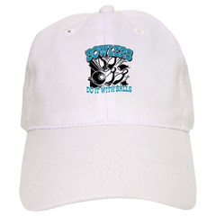 Bowlers do it with Balls Baseball Cap