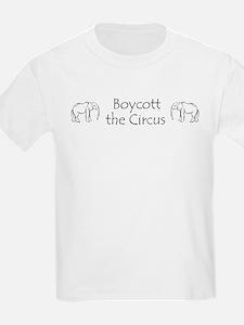 Boycott the Circus Kids T-Shirt