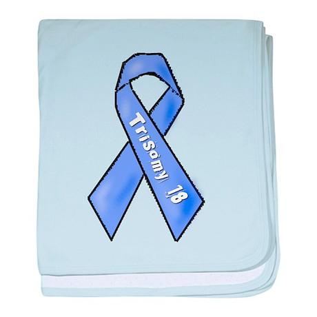 Trisomy 18 Awareness baby blanket