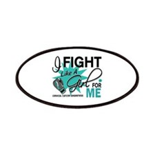 Fight Like A Girl For My Cervical Cancer Patches