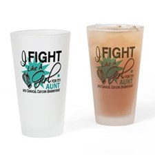 Fight Like A Girl For My Cervical Cancer Drinking