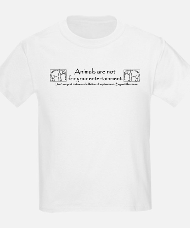 Not for your Entertainment Kids T-Shirt