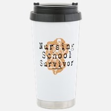 Nursing School Survivor Travel Mug