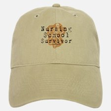 Nursing School Survivor Baseball Baseball Cap