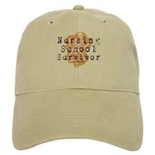 Nursing School Survivor Baseball Cap