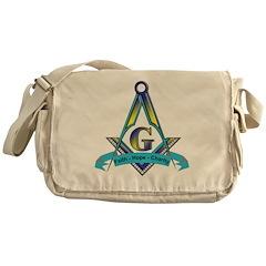 Masonic Messenger Bag