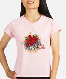 Bright Florals Performance Dry T-Shirt