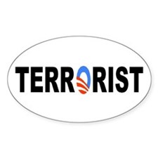 Obama-Terrorist Decal