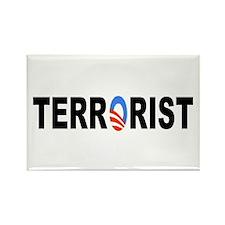 Obama-Terrorist Rectangle Magnet (100 pack)