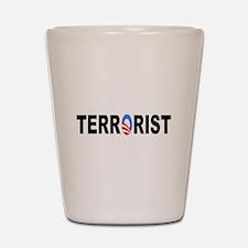 Obama-Terrorist Shot Glass