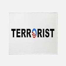 Obama-Terrorist Throw Blanket