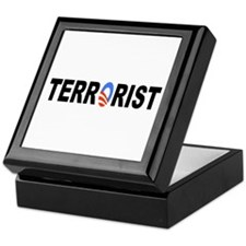 Obama-Terrorist Keepsake Box