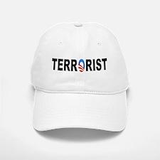 Obama-Terrorist Baseball Baseball Cap