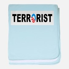 Obama-Terrorist baby blanket