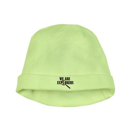 'We Are Explorers' baby hat
