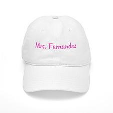 Mrs. Fernandez Baseball Cap