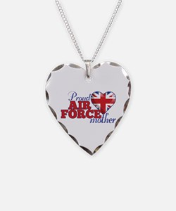 Proud Air Force Mother - Necklace