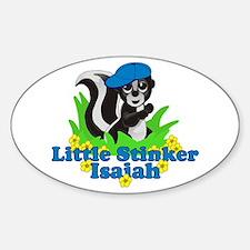 Little Stinker Isaiah Sticker (Oval)
