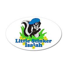Little Stinker Isaiah 22x14 Oval Wall Peel