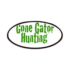 Gone Gator Hunting Patches