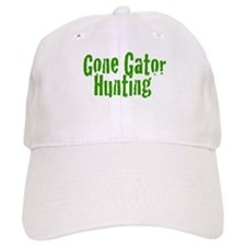 Gone Gator Hunting Baseball Cap