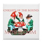 Gnome Gnights Tile Coaster