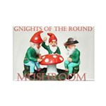 Gnome Gnights Rectangle Magnet