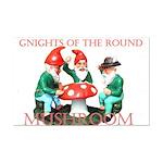Gnome Gnights Mini Poster Print