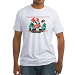 Gnome Gnights Fitted T-Shirt