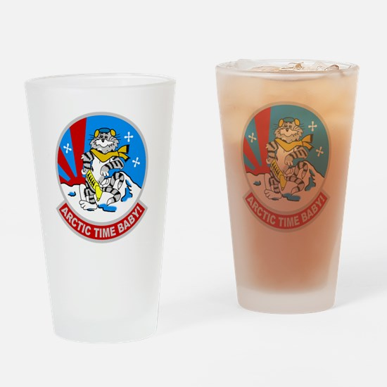 VF-111 Sundowners Drinking Glass