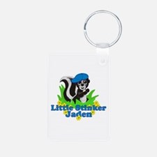 Little Stinker Jaden Aluminum Photo Keychain