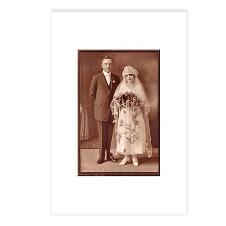Vintage Wedding Postcards (Package of 8)