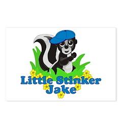 Little Stinker Jake Postcards (Package of 8)