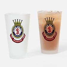 Salvation Army Crest Drinking Glass