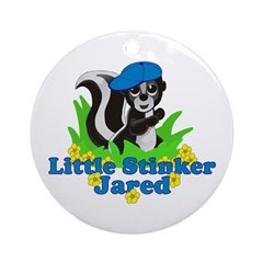 Little Stinker Jared Ornament (Round)