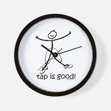 tap is good! DanceShirts.com Wall Clock