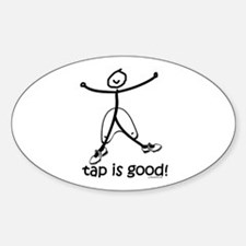 tap is good! DanceShirts.com Decal