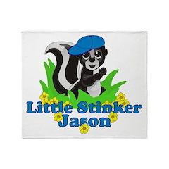 Little Stinker Jason Throw Blanket
