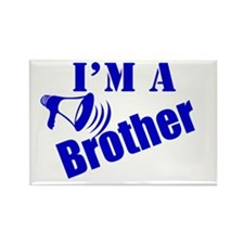 I'm A Brother Rectangle Magnet