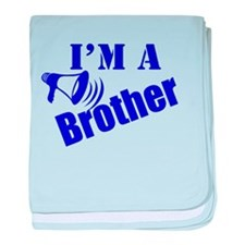I'm A Brother baby blanket