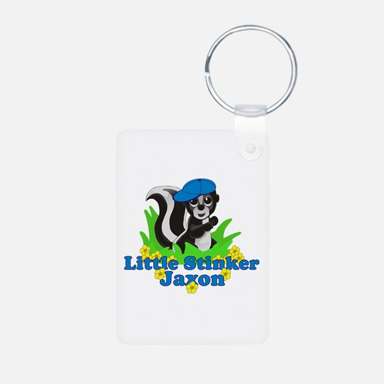 Little Stinker Jaxon Aluminum Photo Keychain