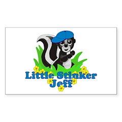 Little Stinker Jeff Decal
