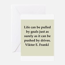 Wilhelm Reich quotes Greeting Card