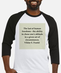 Wilhelm Reich quotes Baseball Jersey